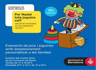 Exposició de joguines PER NADAL, TOTA JOGUINA VAL??