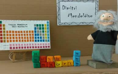 Dimitri Mendeléiev  i la taula periòdica